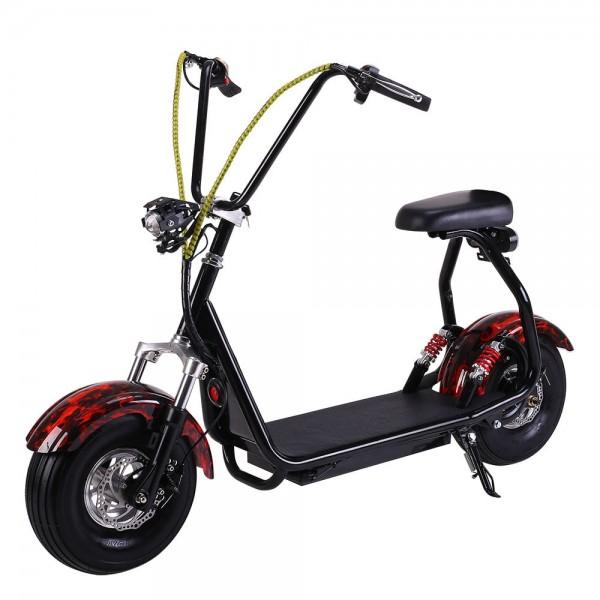 Электросамокат EL-Sport Mini Citycoco 800W Flame фото